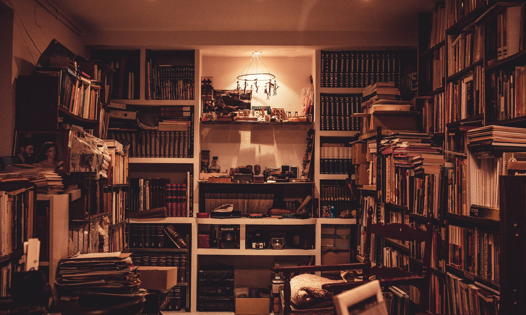 In my personal library, I have a collection of old books, as well as many I have read or wish to read. I have a special shelf dedicated to my own books, and the books for which I've done illustrations. This includes The Gem of Meruna, published under my maiden name Elexis Mullins, and Annabelle.